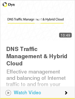 DNS Traffic Management & Hybrid Cloud