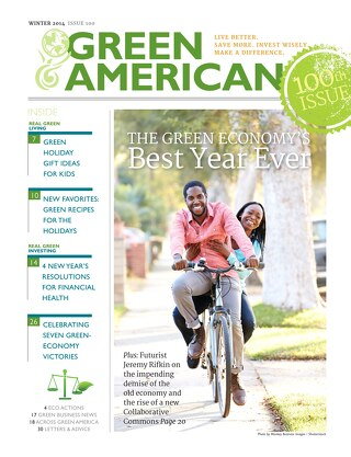Green American #100, Winter 2014