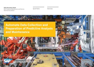 Automate Data Collection and Preparation of Predictive Analysis and Maintenance