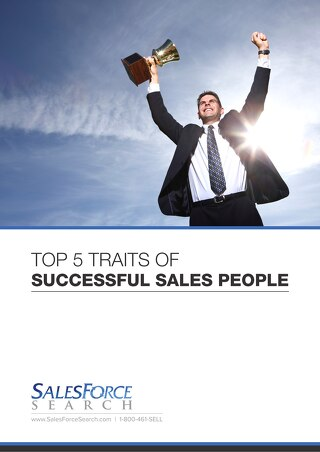 Top 5 Traits of Successful Sales People