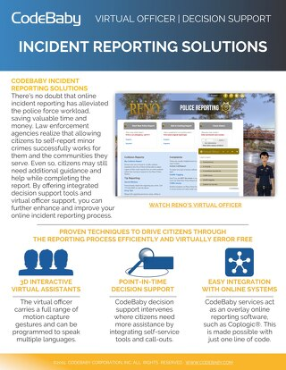 CodeBaby Incident Reporting Solutions