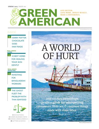 Green American #101, Spring 2015