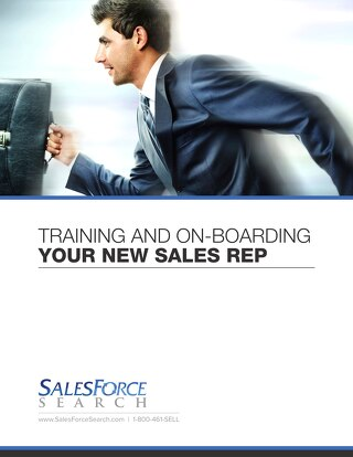 Training and On-Boarding Your New Sales Rep