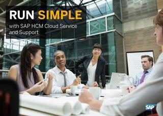 Run Simple with SAP HCM Cloud