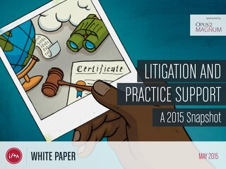 Litigation and Practice Support — May 2015