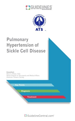 ATS Pulmonary Hypertension of Sickle Cell Disease