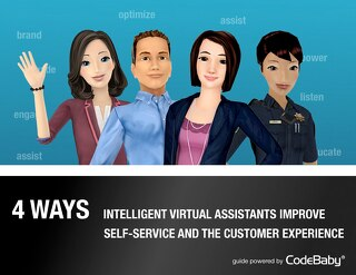 4 Ways Intelligent Virtual Assistants Improve Self Service and the Customer Experience