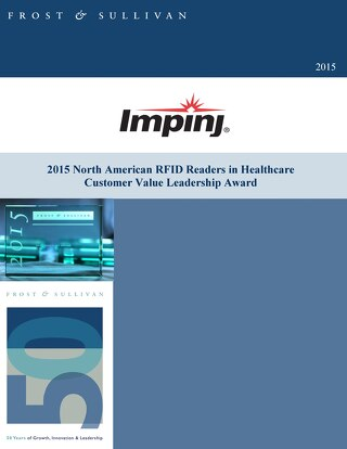 2015 North American RFID Readers in Healthcare Customer Value Leadership Award