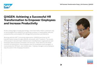 QIAGEN: Achieving a Successful HR Transformation to Empower Employees and Increase Productivity