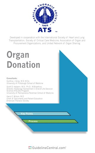 Organ Donation Pocket Guide (ATS)