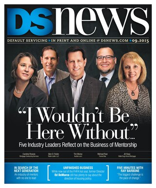 DSNews Sept 2015 - 'I Wouldn't Be Here Without...'