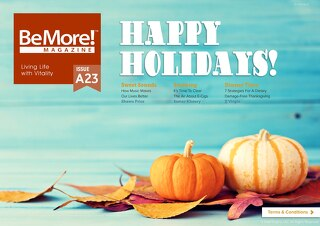 BeMore Magazine November 2015