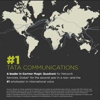 Tata Communications: Leader in Gartner Magic Quadrant for Network Services, Global