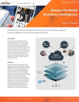 Always-On Retail Inventory Intelligence