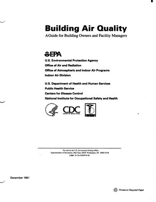 EPA Building Air Quality Guide-1991