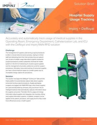 Hospital Supply Usage Tracking