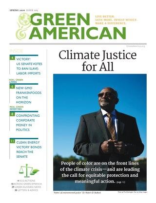 Green American #105, Spring 2016