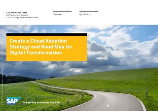 Create a Cloud Adoption Strategy and Road Map for Digital Transformation