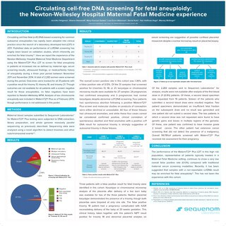 Circulating cell-free DNA screening for fetal aneuploidy- the Newton-Wellesley Hospital Maternal Fetal Medicine experience