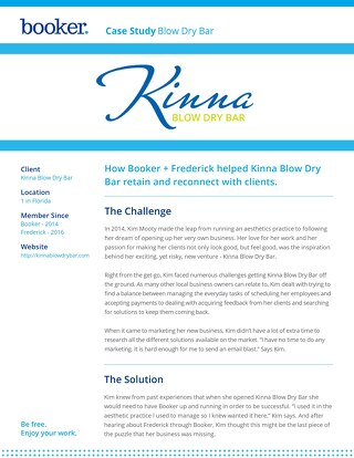 Case Study: Kinna Blow Dry Bar
