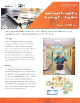 Intelligent Patient File Tracking For Hospitals