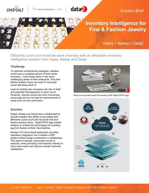 Inventory Intelligence for Fine & Fashion Jewelry