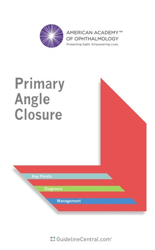 AAO Primary Angle Closure