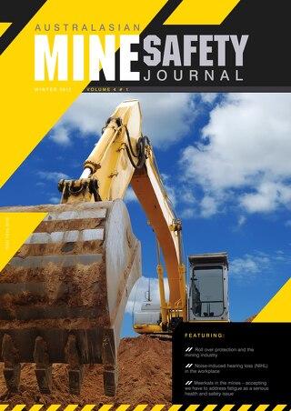 Australasian Mine Safety Journal Volume 4 Winter 2012