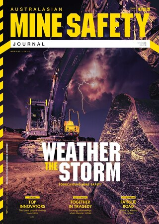 Australasian Mine Safety Journal Issue 30 Spring 2016