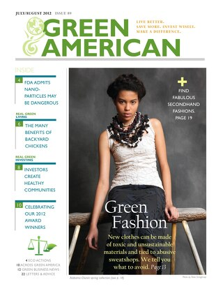 Green American #89, July/August 2012