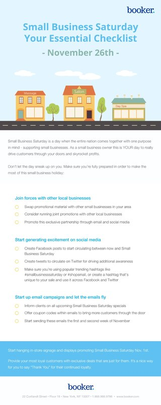 2016 Small Business Saturday Checklist