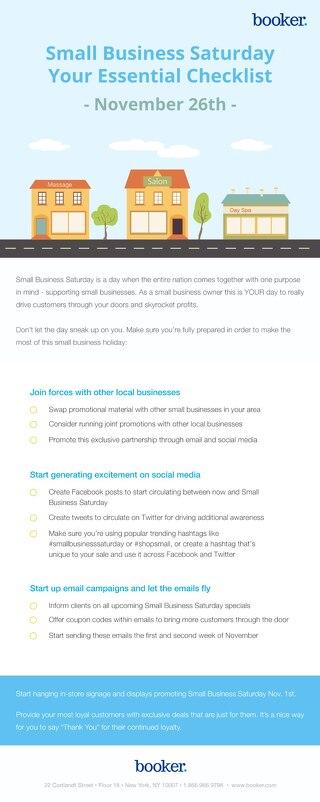 2016 Small Business Saturday Checklist
