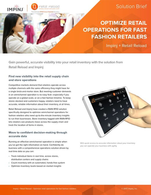 Optimize Retail Operations for Fast Fashion Retailers