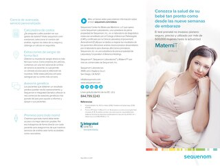 Spanish MaterniT 21 PLUS ESS patient brochure_Rep-1054-v1-0217