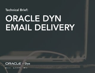 Email Delivery Tech Overview