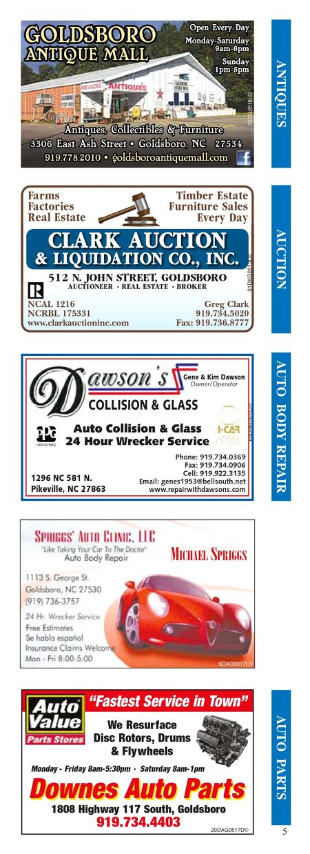 Business Card Directory - 2017