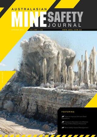 Australasian Mine Safety Journal Vol 4 Issue 2 Spring 2012