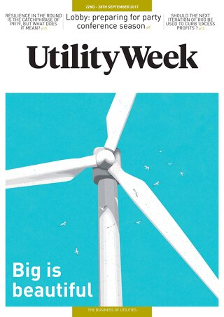 Utility Week 22nd September 2017