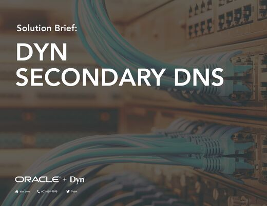 Solution Brief - Dyn Secondary DNS