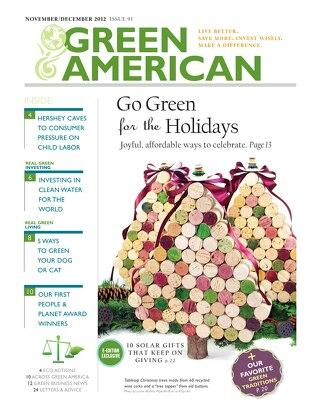 Green American #91, November-December 2012