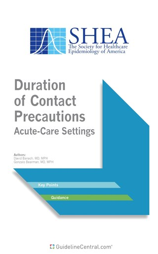 Duration of Contact Precautions