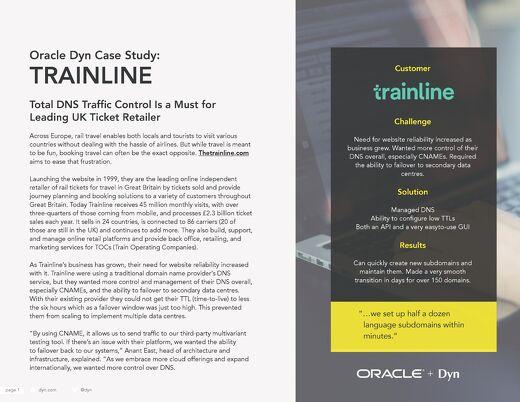 Case Study - Trainline