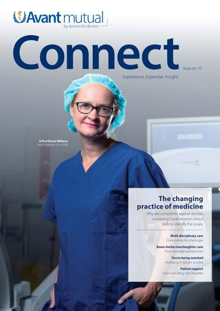 Connect Issue 10 - The changing practice of medicine