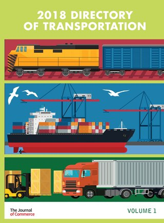 The Directory of Transportation Volume 1, 2018