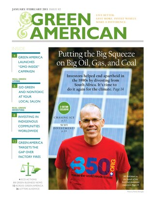 Green American #92, January, February, March 2013