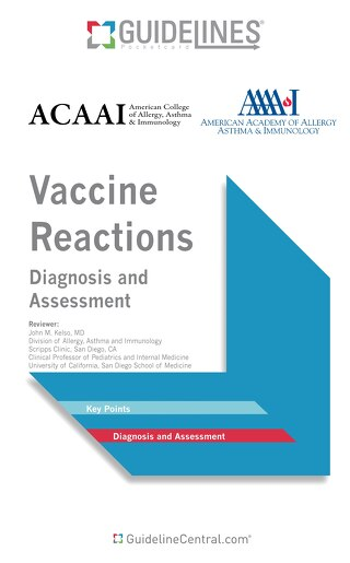 Vaccine Reactions (ACAAI/AAAAI Bundle)