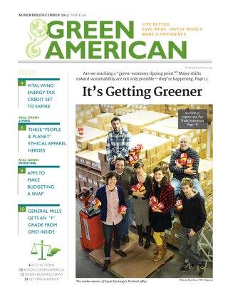 Green American #96, November-December 2013