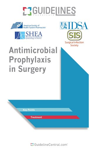 Antimicrobial Prophylaxis in Surgery