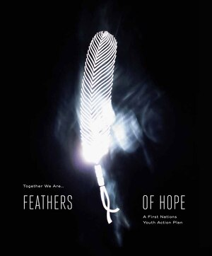 Link to the Feathers of Hope Report - Feathers of Hope - A First Nations Youth Action Plan