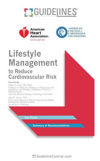 Lifestyle Management to Reduce Cardiovascular Risk